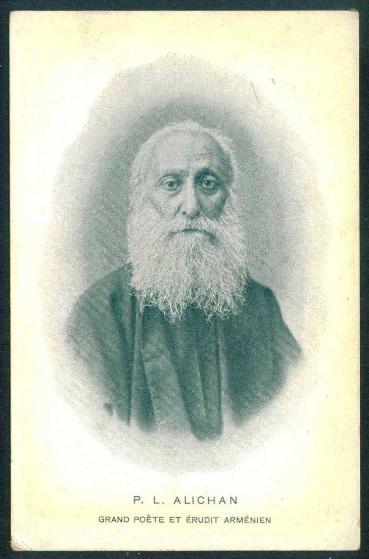 P. L. Alichan - great Armenian writer, poet and intellectual