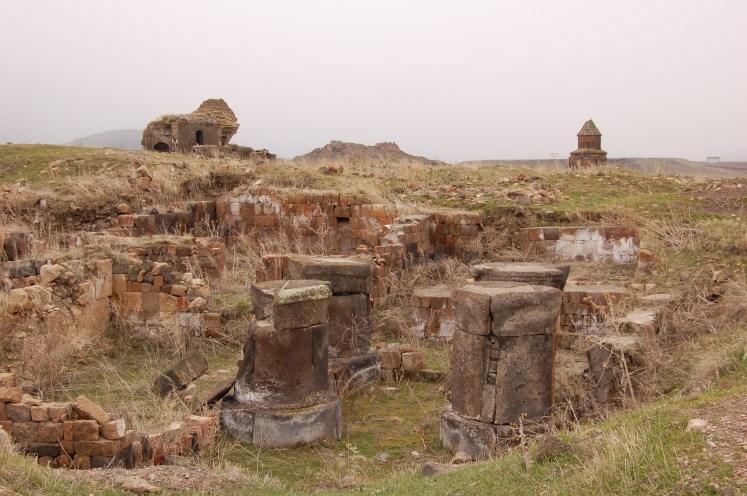 Ruins of ancient Armenian city Ani
