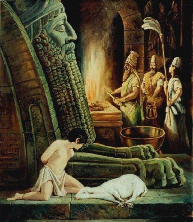 Sacrifice for Shedu 2002 by Rubik Kocharian