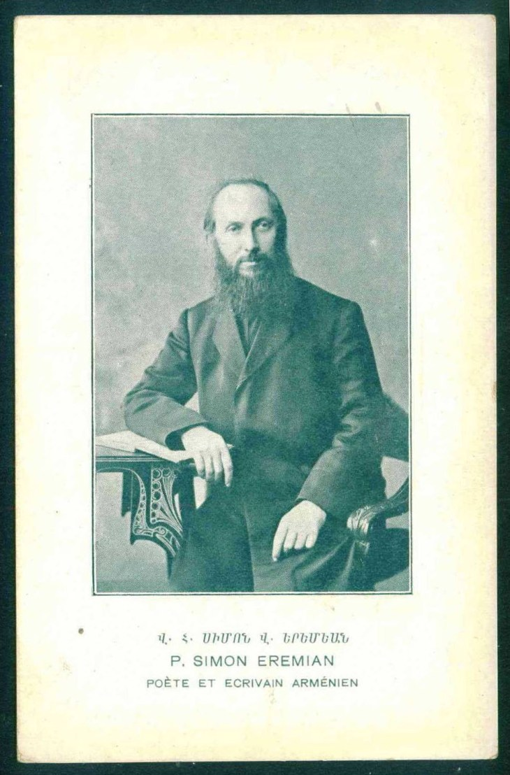 Simon Eremian, Armenian poet and writer