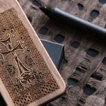 Goshavank Cross-Stone iPhone cover by Gugo & Co