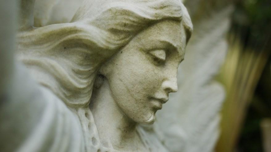 Statue of Armenian Church garden, Singapore