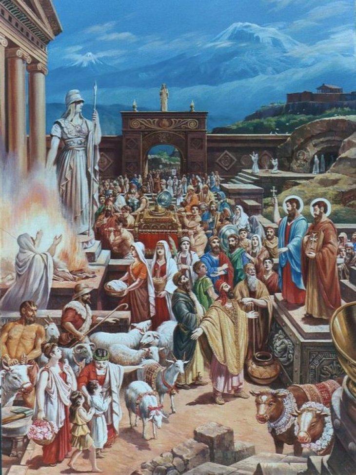 The Apostles Thaddeus and Bartholomew in Armenia 2010 by Rubik Kocharian
