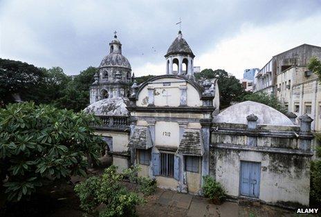 The Armenian church in Chennai