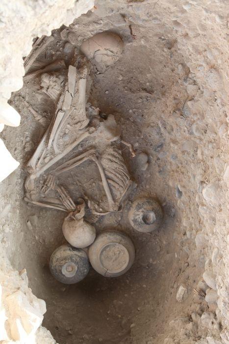 Urartu burial in Karmir Blur Armenia