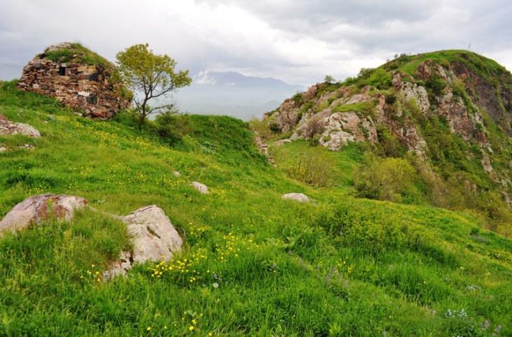 Vardablur berd (medieval fortress)Stepanavan Armenia