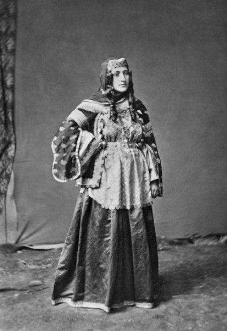 Young Armenian Lady from Shemahi 1883