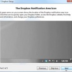 Dropbox Tutorial Screen 3