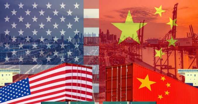 Graphic concept for U.S.-China trade war, tariffs on imports and exports. (Photo: AdobeStock)