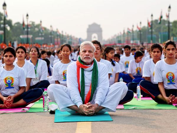 Modi's new pill of nationalism is Yoga