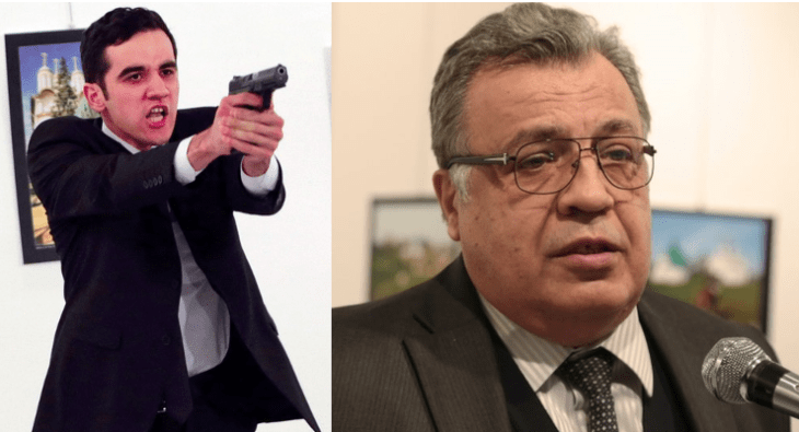 Andrei Karlov, the Russian Ambassador to Turkey, was murdered and his murder was hailed in the west