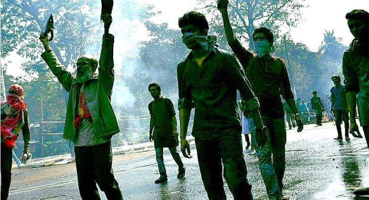 Bangladesh strike against Rampal power station in the Sundarbans