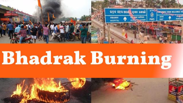 Bhadrak put on communal riots by Hindutva mob