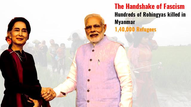 Modi and Suu Kyi joins hand in Rohingya Muslim genocide