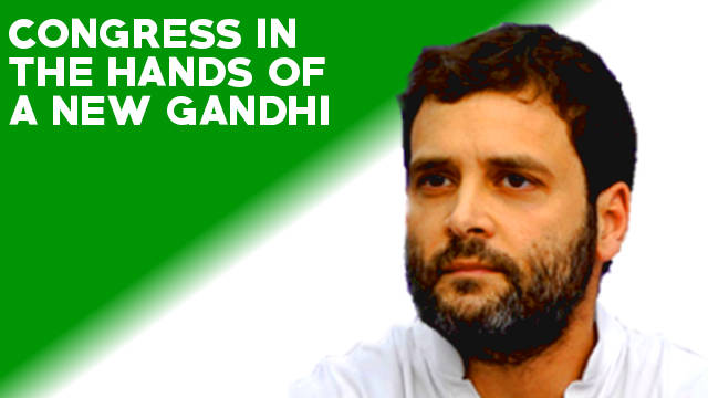 The rise of Rahul Gandhi can't save the Congress