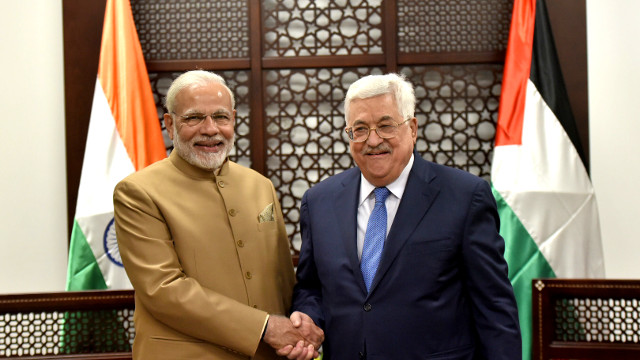 Narendra Modi visits Palestine to hoodwink the people