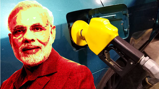 Narendra Modi fiddles with fitness while fuel prices soar