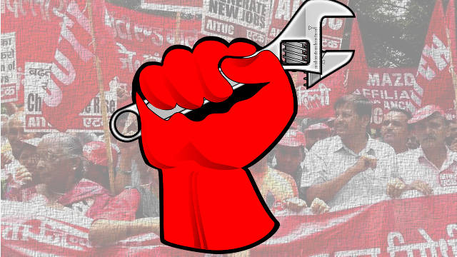 20 July Delhi Workers' Strike