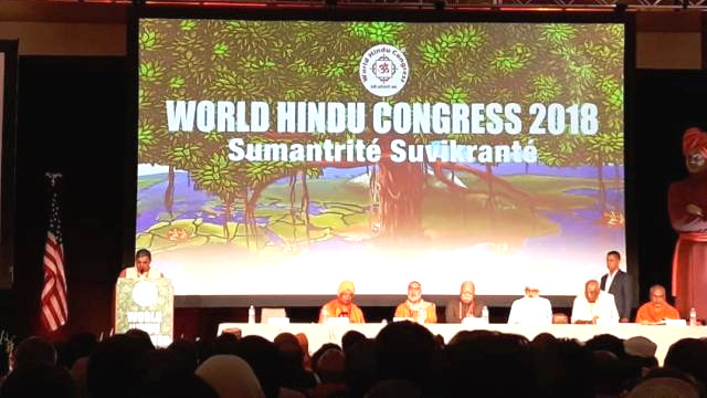 World Hindu Congress 2018 vessel to spread Hindutva fascism