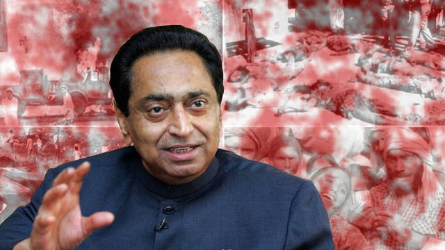 Kamal Nath as Madhya Pradesh Chief Minister