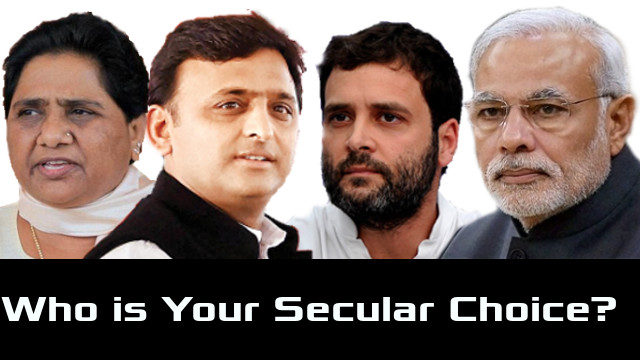 Who is your secular choice in 2019 Lok Sabha polls?