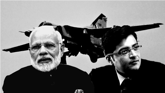 Modi and warmonger tv anchors