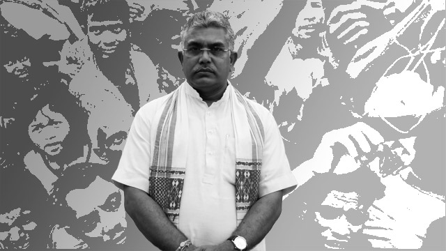 Dilip Ghosh's threat to kick out Bengali Muslims brings the cat out of the bag