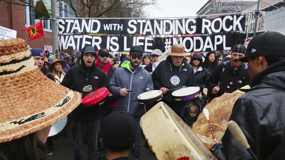Oklahoma tries to crush Native American environmental protesters