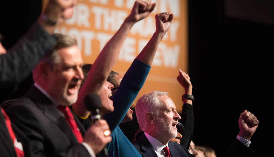 Public ownership makes a comeback in British Labour leader Corbyn speech