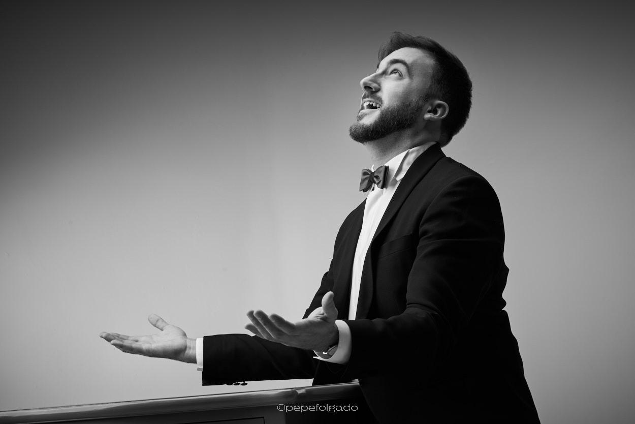 fotos de músicos, fotos de estudio de músicos, cantantes de opera