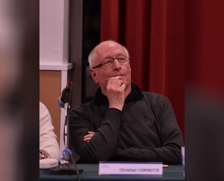 Christian Cornette, conseiller municipal dans l'opposition à Hellemmes
