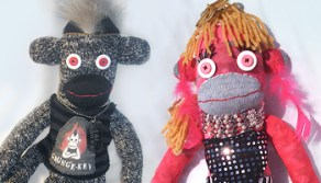 Custom Sock Monkeys