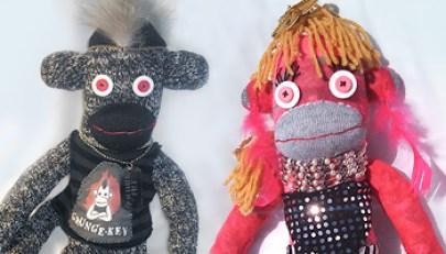 Custom Sock Monkeys