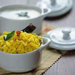 Lemon Poha Recipe – healthy breakfast