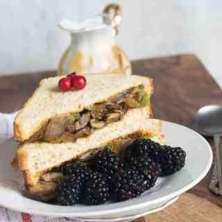 Vegan Philly mushroom Sandwich Recipe