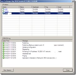 Veeam Back-up virtual lab and recovery