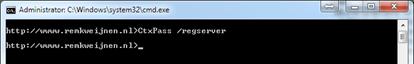 CtxPass /RegServer