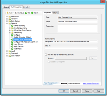 Image Deploy Deployment Workbench MDT