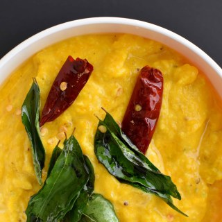 Pumpkin with Yogurt (Mathanga Pachadi)