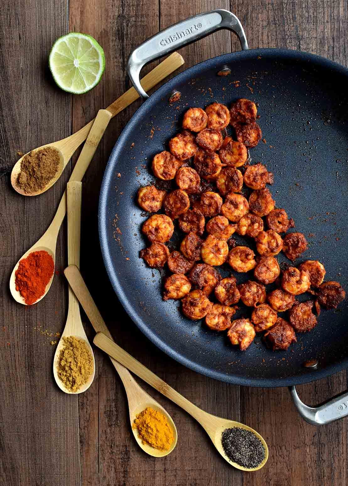 Prawn Biriyani - Pepper Delight #pepperdelightblog #recipe #prawn #shrimp #indian #chemmeen #biriyani #kerala #keralastylebiriyani #seafood #easy #prawnrecipes #nadan #prawnbiriyani
