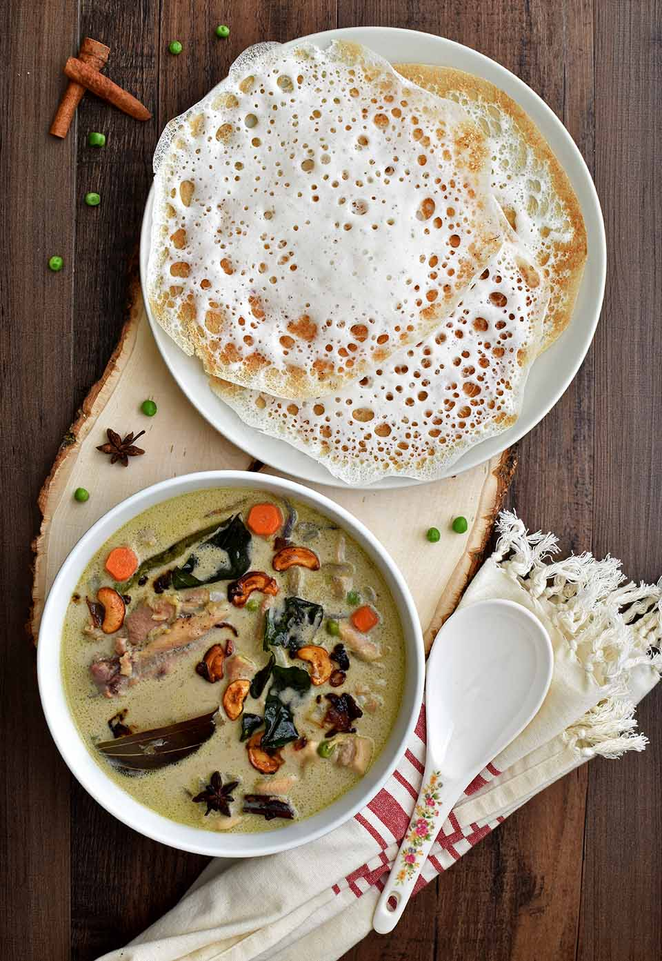 Chicken Stew - Pepper Delight #recipe #stew #thanksgiving #newyear #chickenstew #keralarecipes #easter #christmas #holidayrecipes #party #festivals #keralachickenstew #ishtu #glutenfree #christianrecipes