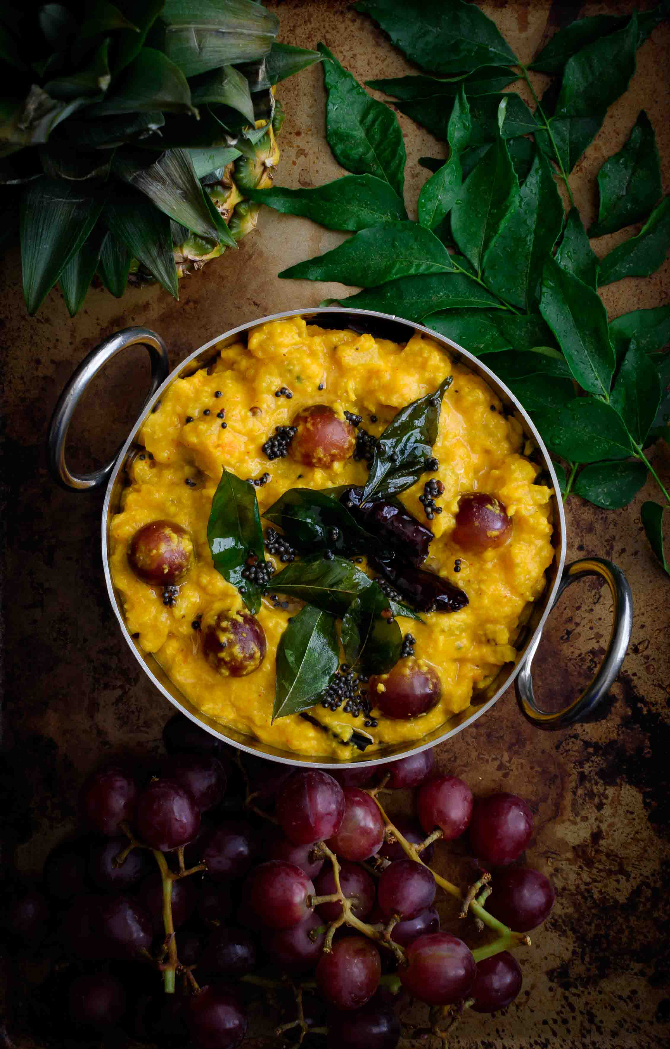 Madhura Curry / Pineapple Grapes Curry - Pepper Delight