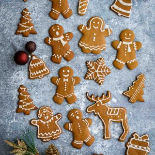 Gingerbread Cookies- Pepper Delight #pepperdelightblog #recipe #cookies #gingerbreadman #gingerbreadcookies #christmasdessert #christmascookies #gingerbread #christmas #snacks #baking #holidayrecipes #festiverecipes #bestgingerbreadmancookies
