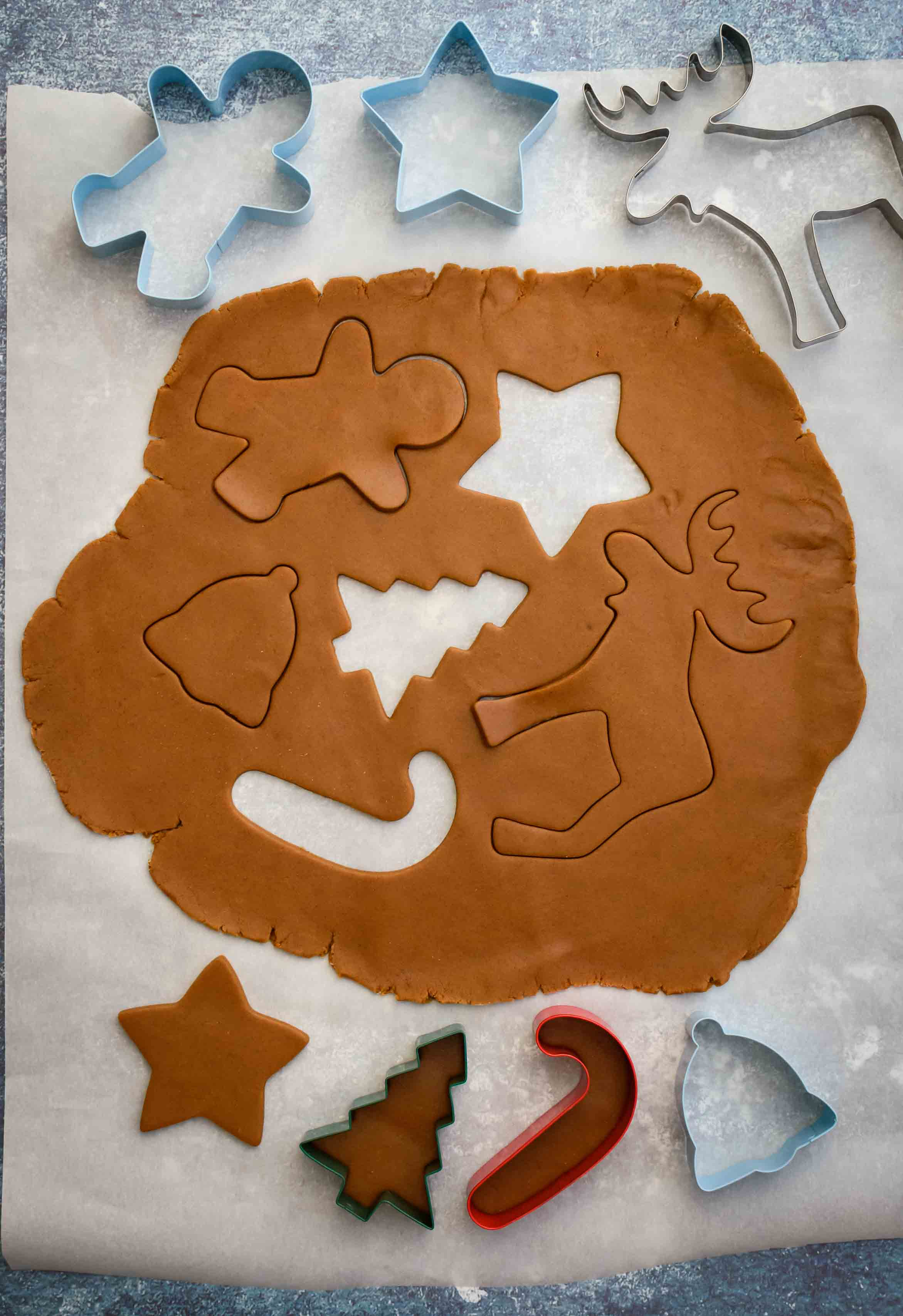 Gingerbread Cookies- Pepper Delight #pepperdelightblog #recipe #cookies #gingerbreadman #gingerbreadcookies #christmasdessert #christmascookies #gingerbread #christmas #snacks #baking #holidayrecipes #festiverecipes #bestgingerbreadmancookies