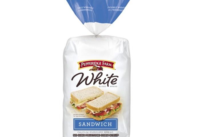 White Sandwich Calcium Enriched Bread Pepperidge Farm
