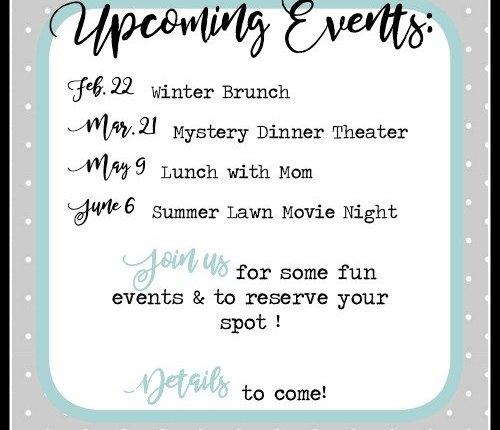2020 Events (B&B social hours)