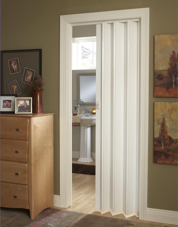 Marquis Accordion Folding Door In Maple Nutmeg Or White