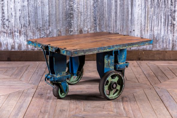 upcycled coffee table small cart table on wheels