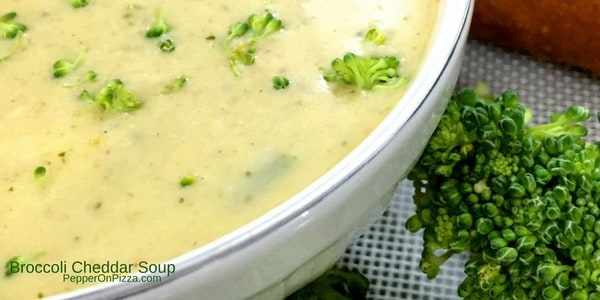 Broccoli Cheddar Soup with Herbs and delicately Spiced