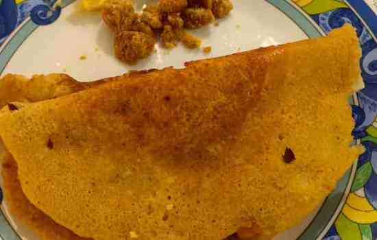 Adai  – Savoury Crepes of rice and mixed lentils